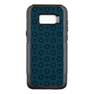 Coque Samsung Galaxy S8+ Par OtterBox Commuter Motif géométrique noir bleu-clair lumineux de