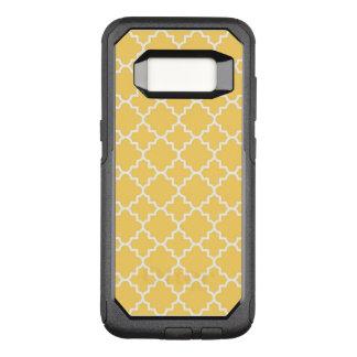 Coque Samsung Galaxy S8 Par OtterBox Commuter Motif jaune de Quatrefoil