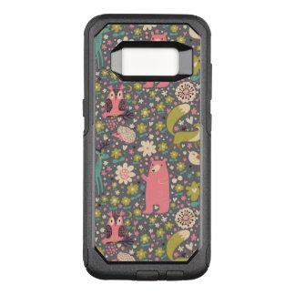 Coque Samsung Galaxy S8 Par OtterBox Commuter Motif mignon d'animaux de forêt