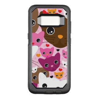 Coque Samsung Galaxy S8 Par OtterBox Commuter motif mignon d'arrière - plan de chat de chaton