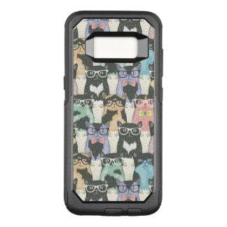 Coque Samsung Galaxy S8 Par OtterBox Commuter Motif mignon de chats de hippie