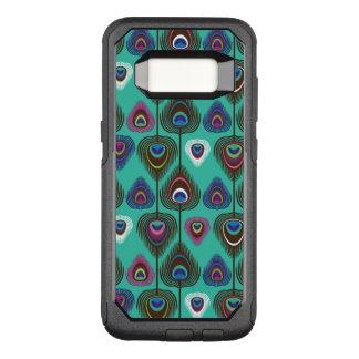Coque Samsung Galaxy S8 Par OtterBox Commuter motif mignon de plume de paon