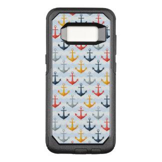 Coque Samsung Galaxy S8 Par OtterBox Commuter Motif nautique avec des ancres