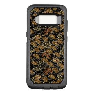 Coque Samsung Galaxy S8 Par OtterBox Commuter Motif oriental de dragon de mer