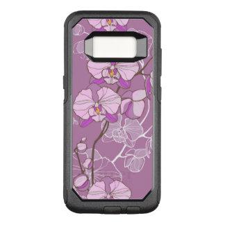 Coque Samsung Galaxy S8 Par OtterBox Commuter Motif pourpre d'orchidée