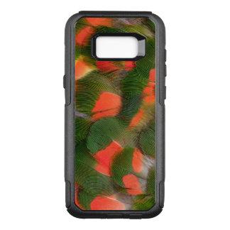 Coque Samsung Galaxy S8+ Par OtterBox Commuter Motif rouge et vert de plume