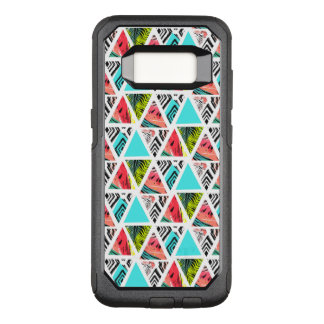 Coque Samsung Galaxy S8 Par OtterBox Commuter Motif tropical abstrait coloré