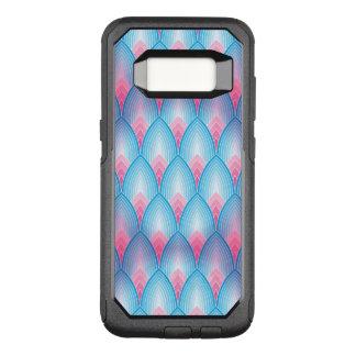 Coque Samsung Galaxy S8 Par OtterBox Commuter Motif turquoise et rose de pétale