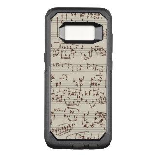 Coque Samsung Galaxy S8 Par OtterBox Commuter Notes de musique
