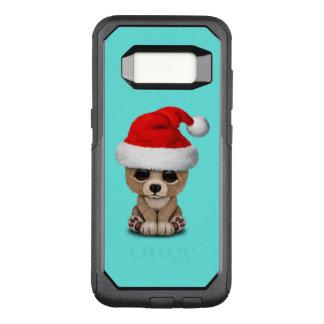 Coque Samsung Galaxy S8 Par OtterBox Commuter Ours de bébé utilisant un casquette de Père Noël