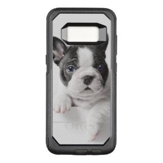Coque Samsung Galaxy S8 Par OtterBox Commuter Pair de deux chiots de bouledogue français