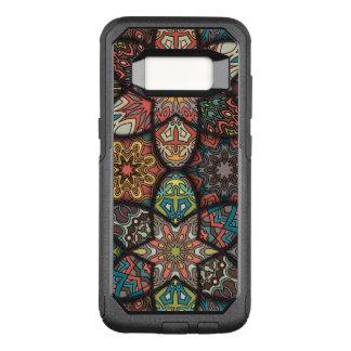 Coque Samsung Galaxy S8 Par OtterBox Commuter Patchwork vintage avec les éléments floraux de