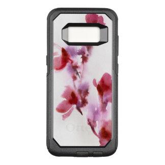 Coque Samsung Galaxy S8 Par OtterBox Commuter Peintures florales abstraites 3 d'aquarelle