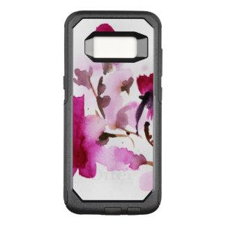 Coque Samsung Galaxy S8 Par OtterBox Commuter Peintures florales abstraites 4 d'aquarelle