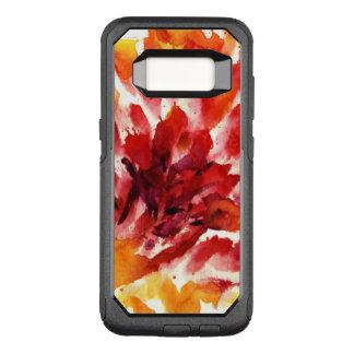Coque Samsung Galaxy S8 Par OtterBox Commuter Peintures florales abstraites 5 d'aquarelle