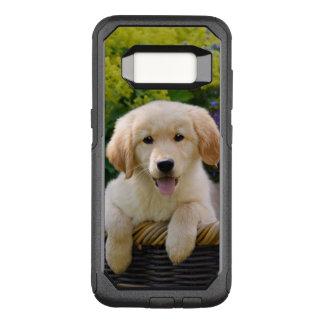 Coque Samsung Galaxy S8 Par OtterBox Commuter Photo drôle d'animal familier de chiot de chien de