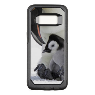 Coque Samsung Galaxy S8 Par OtterBox Commuter Pingouin d'empereur à l'île de colline de neige