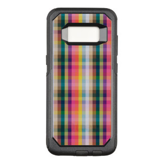 Coque Samsung Galaxy S8 Par OtterBox Commuter Plaid écossais abstrait
