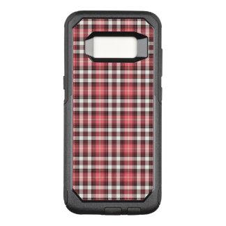 Coque Samsung Galaxy S8 Par OtterBox Commuter Plaid rose et noir et blanc