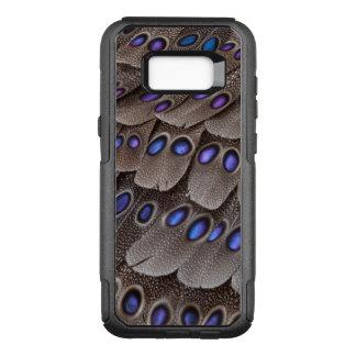 Coque Samsung Galaxy S8+ Par OtterBox Commuter Plume de faisan repérée par bleu