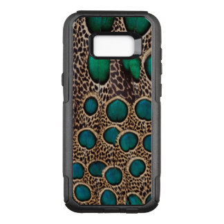 Coque Samsung Galaxy S8+ Par OtterBox Commuter Plumes de faisan de paon d'Ombre
