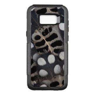 Coque Samsung Galaxy S8+ Par OtterBox Commuter Plumes repérées noires et blanches