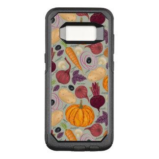 Coque Samsung Galaxy S8 Par OtterBox Commuter Rétro arrière - plan des légumes frais