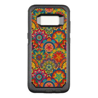 Coque Samsung Galaxy S8 Par OtterBox Commuter Rétro motif coloré génial de mandala