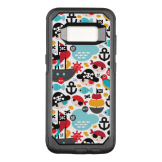 Coque Samsung Galaxy S8 Par OtterBox Commuter Rétro navigation d'illustration de pirates
