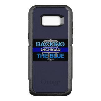 Coque Samsung Galaxy S8+ Par OtterBox Commuter Soutien du cas du Michigan Otterbox de bleu