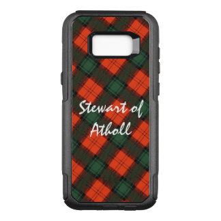 """Coque Samsung Galaxy S8+ Par OtterBox Commuter """"Stewart tartan écossais de kilt d'Atholl"""""""
