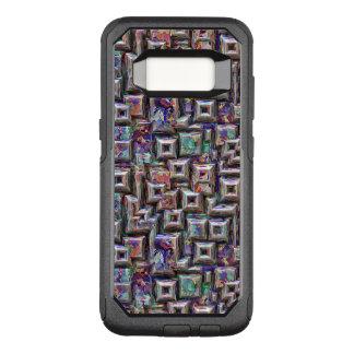 Coque Samsung Galaxy S8 Par OtterBox Commuter Structure 3D abstraite colorée