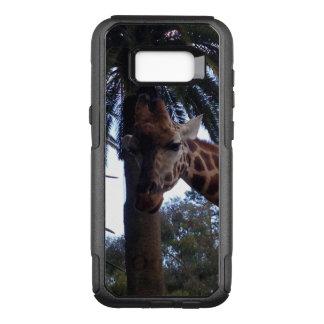 Coque Samsung Galaxy S8+ Par OtterBox Commuter Surveillance de girafe,