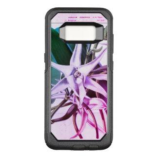 Coque Samsung Galaxy S8 Par OtterBox Commuter Tasse botanique d'impression d'orchidée vintage de
