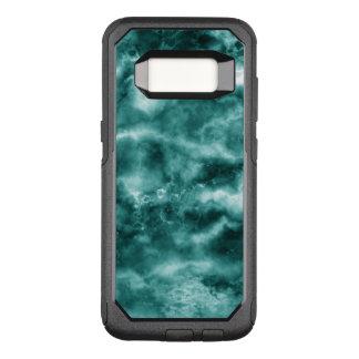 Coque Samsung Galaxy S8 Par OtterBox Commuter Texture de marbre vert-foncé