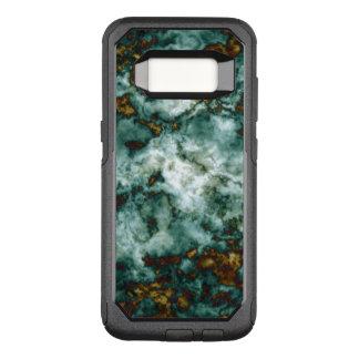 Coque Samsung Galaxy S8 Par OtterBox Commuter Texture de marbre verte avec des veines