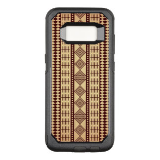 Coque Samsung Galaxy S8 Par OtterBox Commuter Texture ethnique de Brown