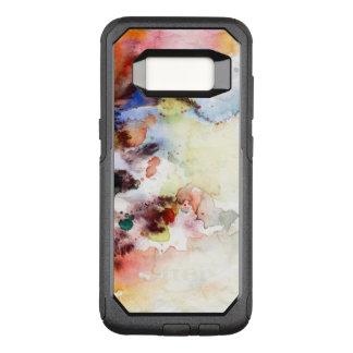Coque Samsung Galaxy S8 Par OtterBox Commuter Texture grunge d'aquarelle abstraite avec la