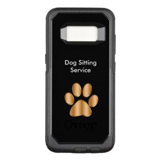 Coque Samsung Galaxy S8 Par OtterBox Commuter Thème chic de garde d'enfants de chien