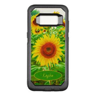 Coque Samsung Galaxy S8 Par OtterBox Commuter Tournesols heureux géants jaunes lumineux