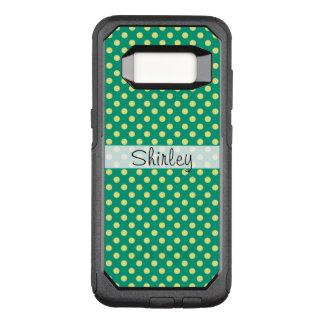 Coque Samsung Galaxy S8 Par OtterBox Commuter Vert vert avec le pois jaune par STaylor