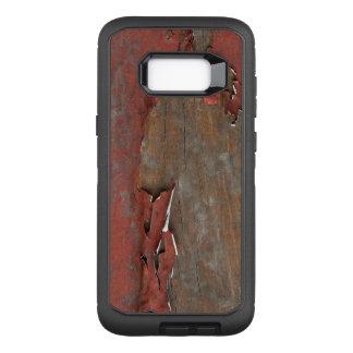 Coque Samsung Galaxy S8+ Par OtterBox Defender Bois rouge vintage de grange
