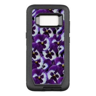 Coque Samsung Galaxy S8 Par OtterBox Defender Caisse pourpre de la galaxie S8 de Samsung de