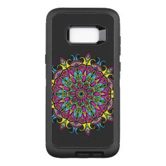 Coque Samsung Galaxy S8+ Par OtterBox Defender Conception colorée superbe de mandala