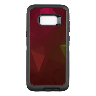 Coque Samsung Galaxy S8+ Par OtterBox Defender Dessin géométrique abstrait de LoveGeo - forêt
