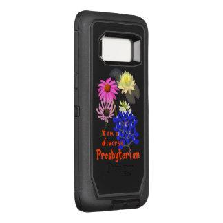 Coque Samsung Galaxy S8 Par OtterBox Defender Je suis un presbytérien divers (la multi-fleur)
