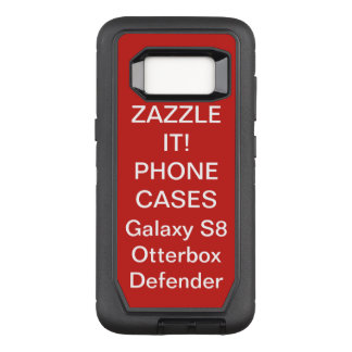Coque Samsung Galaxy S8 Par OtterBox Defender La coutume a personnalisé la caisse de téléphone