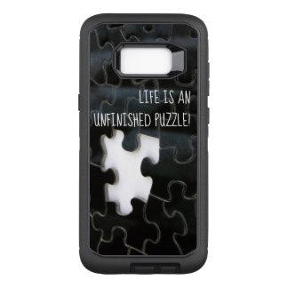 Coque Samsung Galaxy S8+ Par OtterBox Defender Photographie absente noire et blanche de morceau