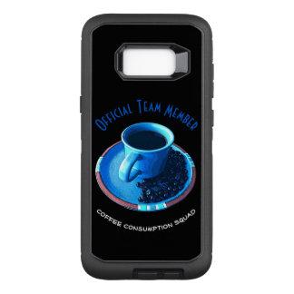 Coque Samsung Galaxy S8+ Par OtterBox Defender Tasse et soucoupe bleue du peloton | d'amant de