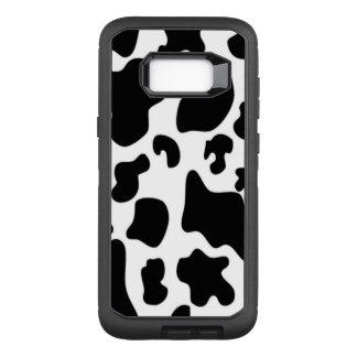 Coque Samsung Galaxy S8+ Par OtterBox Defender Vache noire et blanche